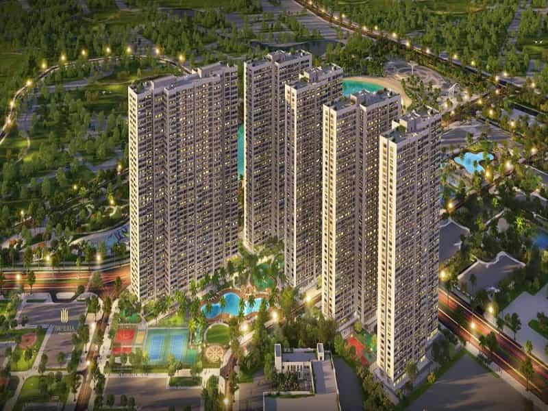 hình ảnh tổng quan dự án chung cư imperia smart city